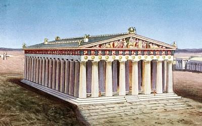 Construccion del Partenon de Atenas