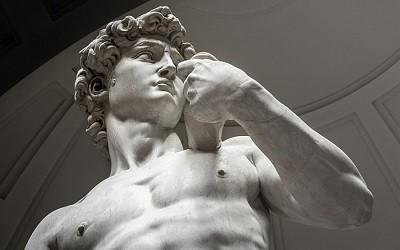 El David de Michelangelo Buonarrotti