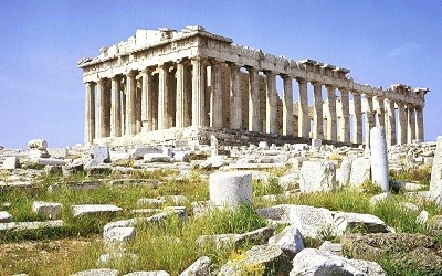 El Partenon de Atenas en Grecia