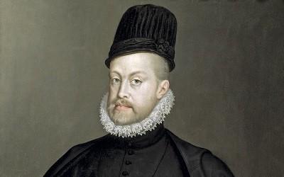 El Rey Felipe II de España