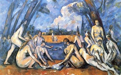 Los Grandes Bañistas de Paul Cezanne