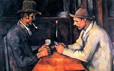 Los Jugadores de Cartas de Paul Cezanne