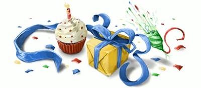 Cumpleaños de Google