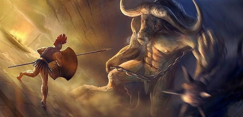 El Mito de Teseo y el Minotauro