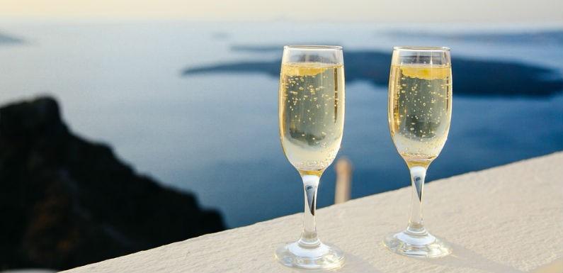 Historia champagne frances
