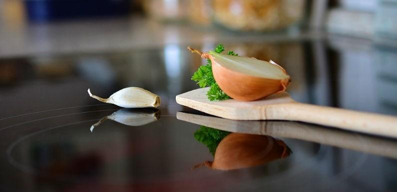 Superficies higienizadas en la cocina