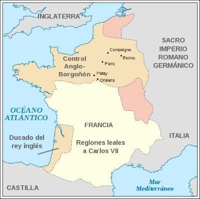 Mapa Guerra de los 100 Anos Wikipedia