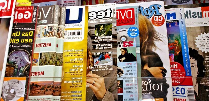 elaborar una portada de revista que sea impactante