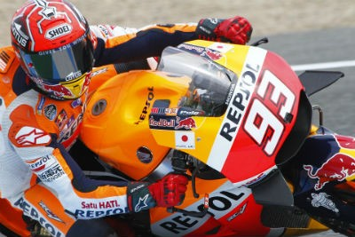 Marc Marquez and Dazn