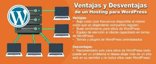 Ventajas y desventajas de un hosting WP