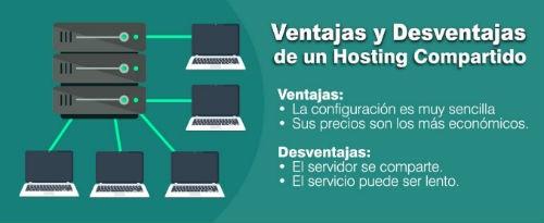 Ventajas y desventajas de un hosting compartido
