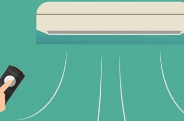 sistema de canales de ventilación del aire acondicionado