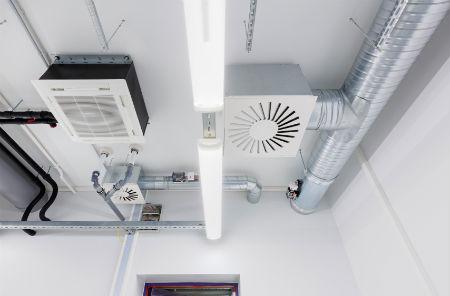 Aire acondicionado por conductos es ideal para construcciones con múltiples estancias