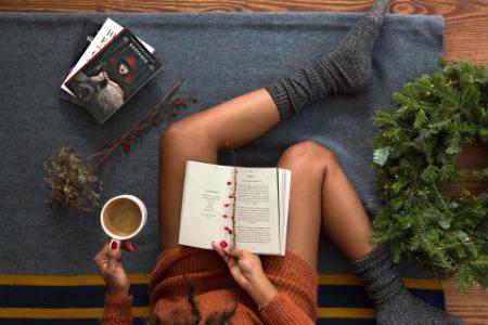 Lectura de libros por navidad
