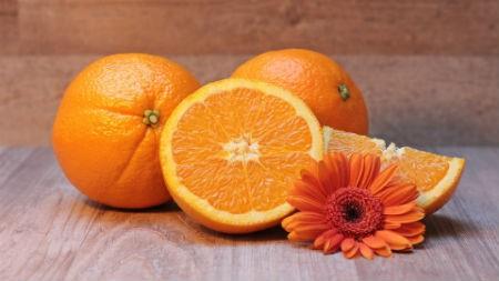 Naranjas para una buena salud