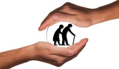 Cuidado de personas mayores dependientes