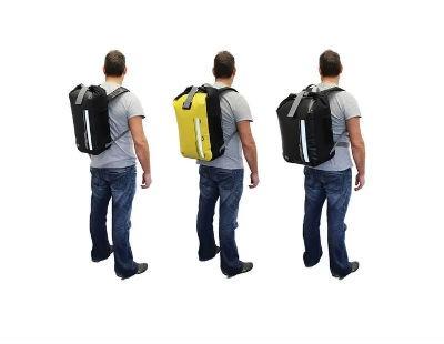 Diferencia en el volumen de la mochila