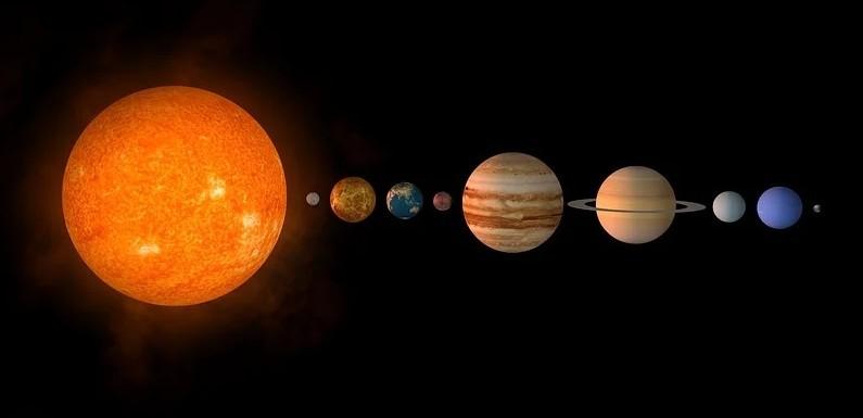 El sistema solar para niños