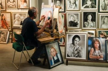 Retratos, cuadros y reproducciones para decorar hogar